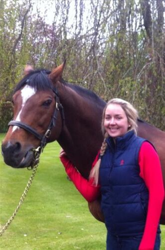 Holly with supersire Galileo