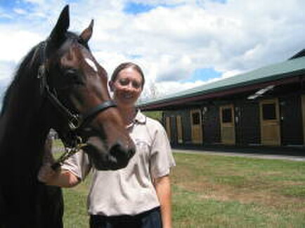 NZTBA & National Stud Scholarship winner, Angela Lane