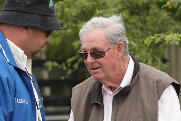 Don with Peter Moody who trained the stakes winner Tampiko for him among others