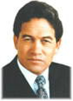 Hon. Winston Peters, New Zealand's Minister for Racing