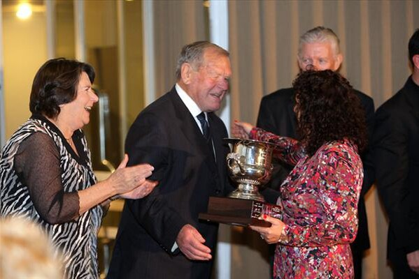 Auckland Branch Breeders of the Year, Clyde and Pat Buckingham - Photo: Trish Dunell