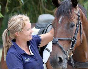 Gifted horsewoman gives thousands of thoroughbreds a life after racing
