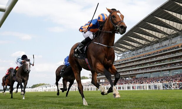 Gleneagles winning the Gr.1 St. James's Palace Stakes