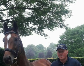 Sunline Scholarship recipient David Morris enjoying Coolmore Ireland experience