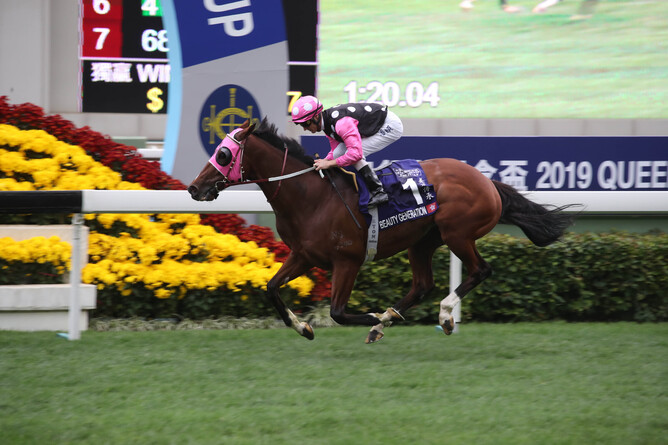 NZ Breeder of the Year Nearco Stud breeder of Hong Kong champion Beauty Generation
