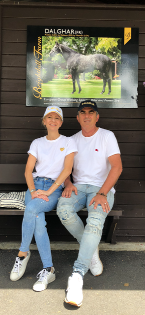 Nevin and Renae Botica pictured at Karaka
