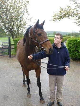 Jamie with 14-time Group One winner Goldikova