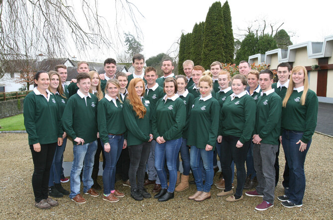 There are 26 students on the 2016 Irish National Stud Course