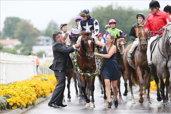 Vespa returns to scale after winning the Listed Karaka Million - Photo Trish Dunell
