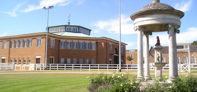 The Tattersalls Sales ring